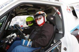 prueba racing mitsubishi