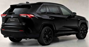 toyota rav 4 black ediction