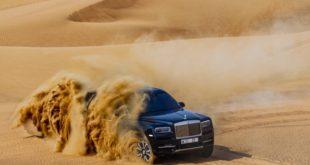 El SUV de Rolls